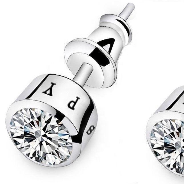 Boys Earrings White Gold Diamond Stud Earrings For Boys Cool Diamond Stud Earrings For Men Buy White Glod Diamond Stud Earrings For Men Boys Earrings Product On Alibaba Com