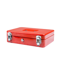 small metal money boxes stainless lock coin saving box children gift money saving box piggy bank