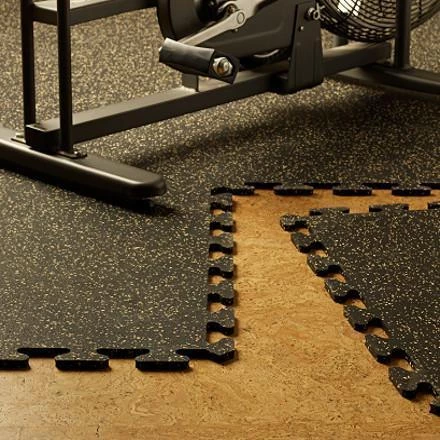 Wholesale High Quality Rubber Gym Fitness Interlocking Floor Mats