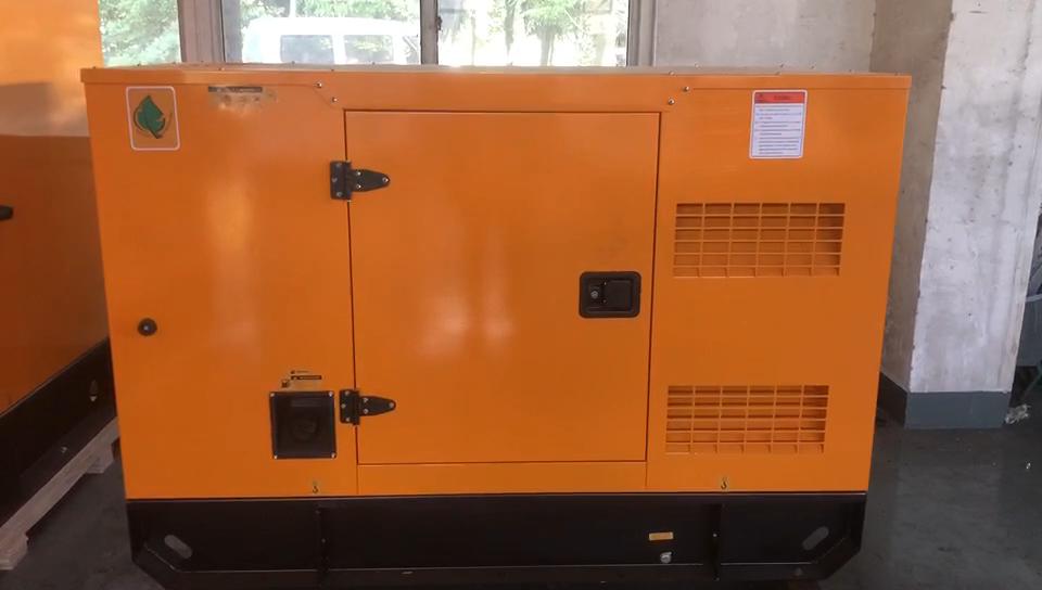 Flüssigkeit Gekühlt Propan Generator Silent-Power Aggregat Diesel 60HZ 24KVA Mit UK Motor 404D-22G