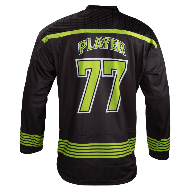 Plain International 100% Polyester Ice Hockey Shirts Good Quality Men Sublimation Ice Hockey Jersey