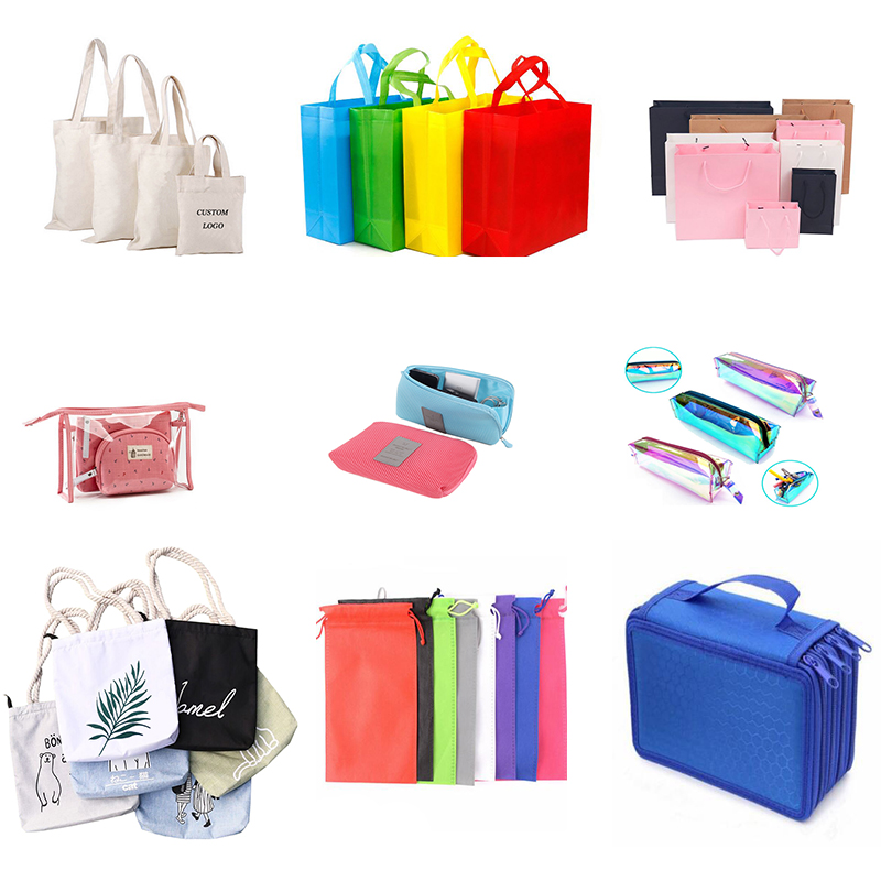 Cosmetic Bags For Women Travel Makeup Case Organizer Bag Lips Printed Backpacks