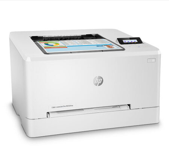 4 colors M254NW Laser Printer A4 , with original toner cartridge (C , M , Y , BK )