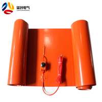 Custom-made Good Quality 1500x200mm silicone rubber 3d printer heat 110v electric heating blanket