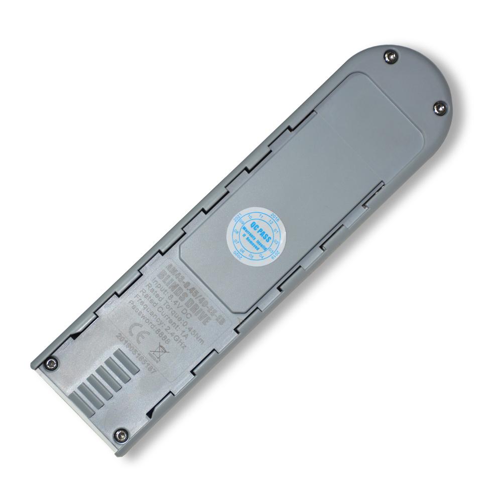 JNS Electric Window Blinds Smart Chain Curtain Fabric Zebra Roller Blind Battery Drive Motor
