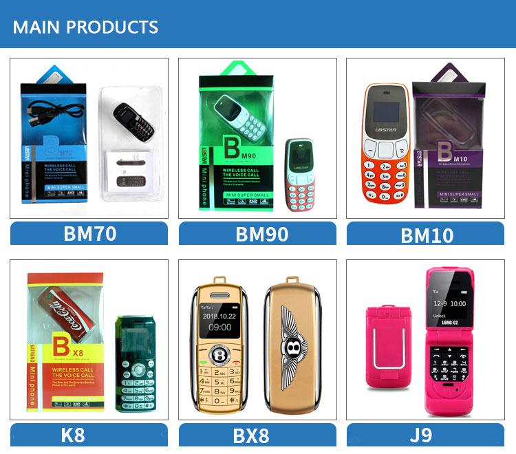 אופנה מיני נייד טלפון bluetooth קטן גודל אוזניות נייד מיני טלפון סלולרי BM10 Bluetooth אלחוטי אוזניות