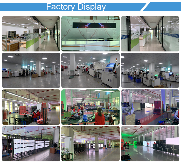 China Supplier P3.75 Outdoor SMD Advertising Full Color LED Display For Rental