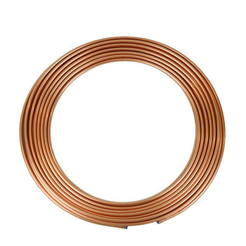 China manufacturer cheap copper nickel 90/10 pipes,air conditioning pancake coil copper tube