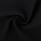 Cotton Interlock Fabric Interlock Cotton Fabrics Suppliers Custom Black Double Faced Knitted Solids Cotton Interlock Fabric For Garment Trousers
