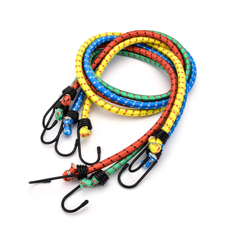 Pull cargo hook Bungee Cord Set Octopus occy Straps Tie Down 1m <strong>Elastic</strong> binding <strong>elastic</strong> <strong>rope</strong> for electric motorcycle