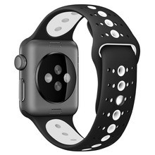 LEONIDAS Sport Strap Voor Apple Horloge Band 42mm 38mm correa IWatch Serie 3 2 1 Siliconen Polsbandje Armband rubber horlogeband <span class=keywords><strong>Riem</strong></span>