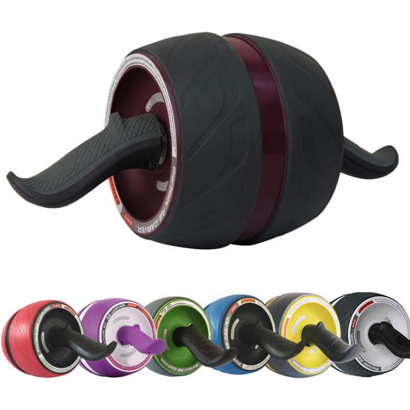 בית כושר מרובה זוויות Core אימון תרגיל בטן Ab גלגל רולר עם הברך כרית מחצלת