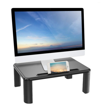 Ergonomic Portable Wood Desktop Lcd Monitor Stand Laptop Stand Desktop Computer Monitor Riser