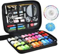 DIY Sewing Supplies with Sewing Accessories, Portable Mini Sewing Kit for Beginner