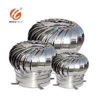 Roof extractor fan wind driven turbine air ventilator roof fan