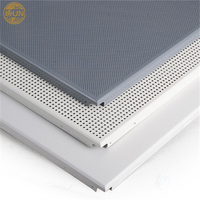 interior decoration aluminum perforated ceiling panel