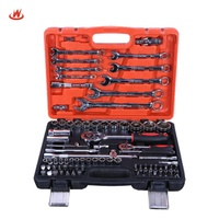 China Factory 82 PCS Wrench Socket Set,Box Spanner Socket Wrench Set,Socket Wrench Tool Set
