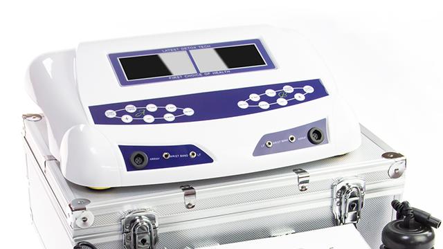해독 발 스파 기계 침술 치료
