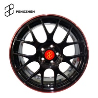 "Forged alloy wheels by customized black 16"" 17"" 18"" 19"" 20"" 21"" 22"" 5x120 aluminum rim T6061 for Audi/BMW car wheels hub"