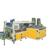 Wraparound case packer for Bottle water carton packaging machine line with hot melt glue
