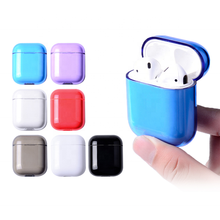 Apple <span class=keywords><strong>Airpods</strong></span> กรณี PC Hard Shell Glossy <span class=keywords><strong>AirPods</strong></span> สำหรับ AirPods1/2