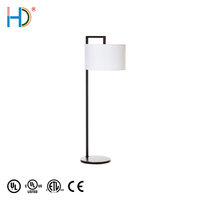 Most Competitive Contemporary Modern Designer Metal White Fabric Floor Lamp