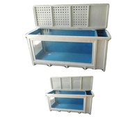 professional customization fiberglass reinforced plastic water tank frp fish tank with surface smooth tank
