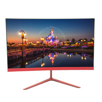 2020 New Ultra Thin Full HD 1K ,2k ,4k 24 inch IPS Panel LED Curved Frameless computer Monitor