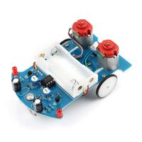 Soldering Smart Car Project Kits Line Following Robot Kids DIY Electronics
