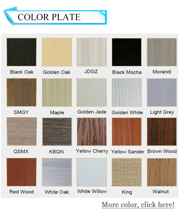 PVC/WPC door wood plastic composite door waterproof interior bathroom door design hot sale