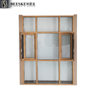 Factory Supply Construction Engineering Lighting Single Glass Aluminum Casement Windows