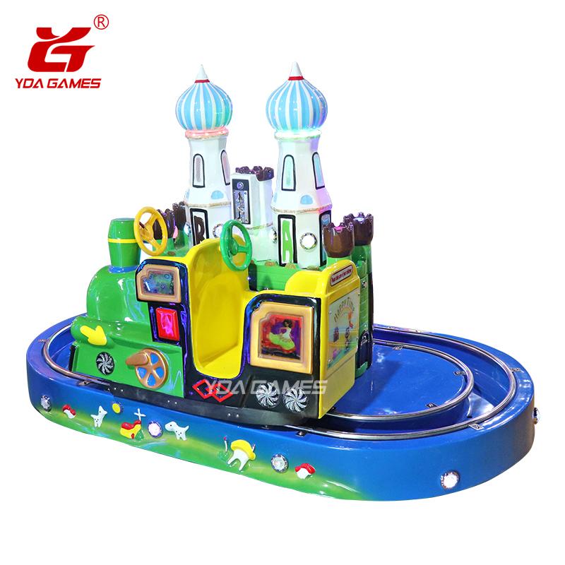 Kasteel Trein nieuwe kids trein elektrische rit aantrekkelijke kids trein