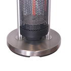 High Quality Ip44 Outdoor Bathroom 1200W Standing Home Carbon Fibre Patio Heating Portable Room Electric Heater