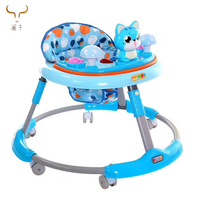 Wholesale cheap baby car carrier/cute baby walker for tall baby with music/Manufacture sit to stand learning stylish baby walker
