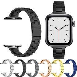 Bracelet for apple watch 6 se strap 40mm 44mm slim