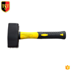 China Manufacturer Factory 1000g Fibreglass Club Stone Sledge Hammer