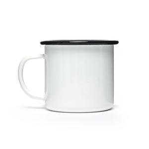 Wholesale Camping Blank White Logo Printing Sublimation Custom Enamel Mug