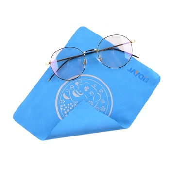 custom printed microfiber glasses cleaning cloth