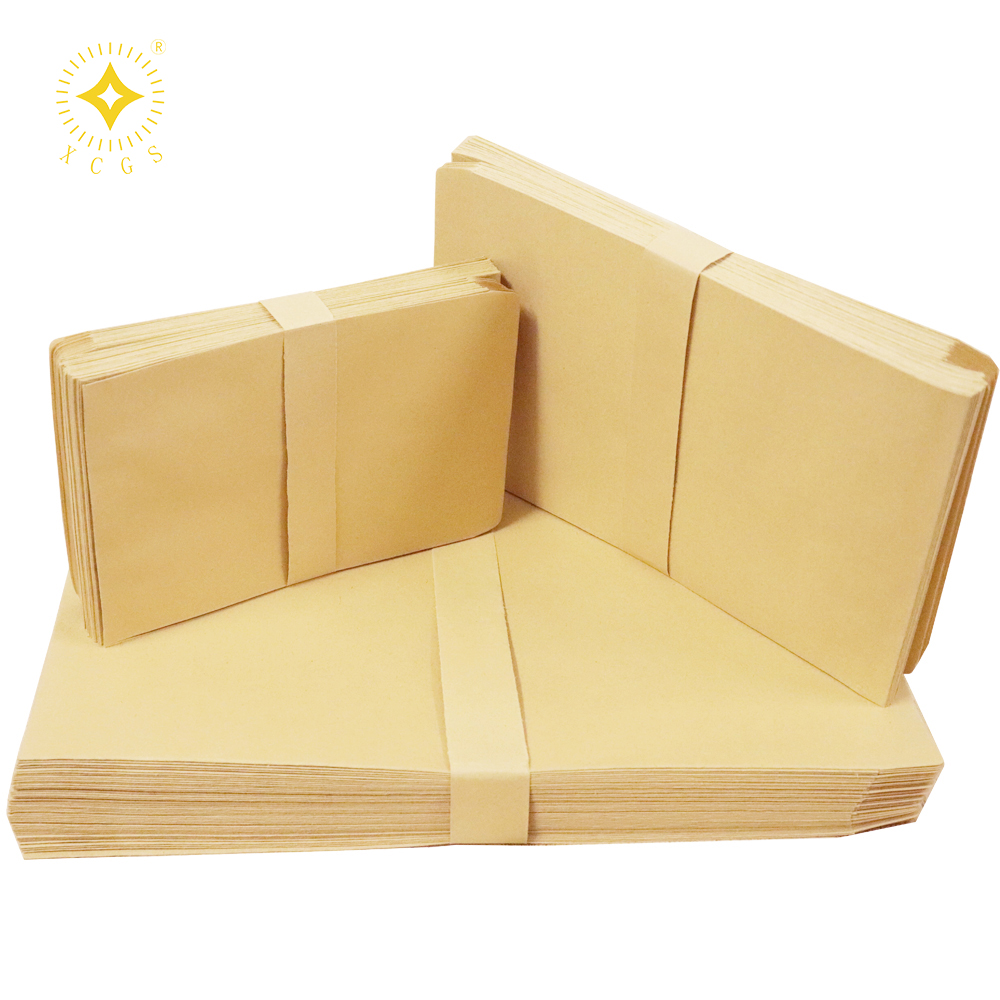 wholesale price 6x10 Custom kraft paper mailer envelopes recycled Shipping bags with peel and stick