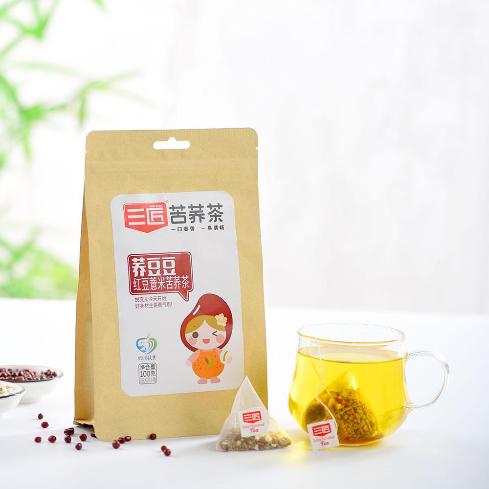 OEM Private Label chinese natural ormosia red bean Coix Seed Barley buckwheat beauty health herbal tea - 4uTea | 4uTea.com
