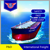 ocean freight agent from shenzhen to durban by pd shipping