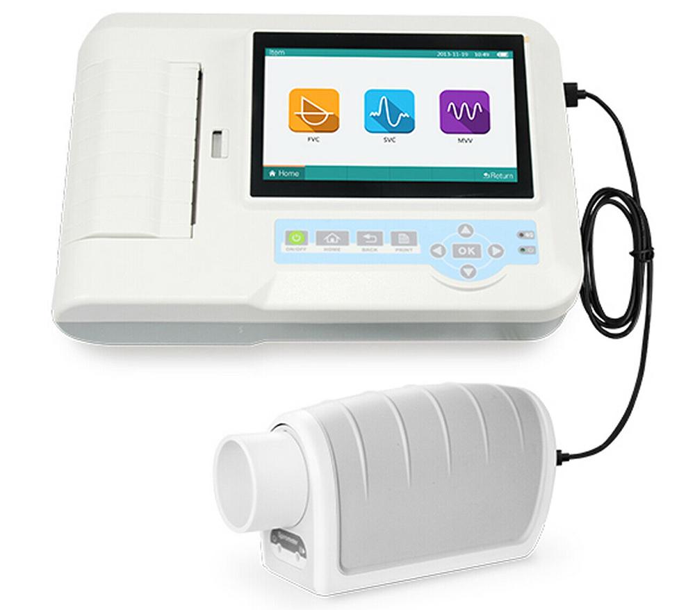 Spiromètre numérique PC Bluetooth Débitmètre Types De Spiromètre embouchure