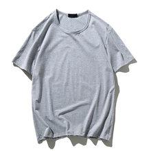 Футболка мужская, 12 цветов, 2020, новая хлопковая Футболка карамельного цвета, летняя футболка для скейтборда, футболка для мальчиков, футболк...(Китай)