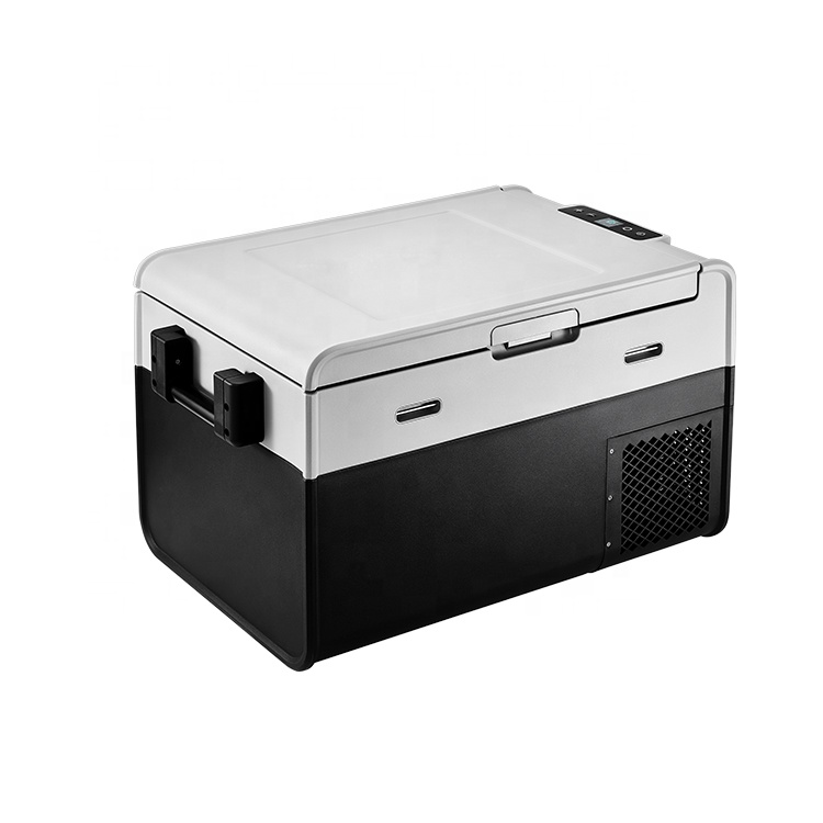 Camping Réfrigérateur Congélateur Refroidisseur Voiture Frigo Camping Réfrigérateur compact 12V 220v DC 12V/24V AC 110V/240V pour Voiture et Usage Domestique