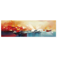 Colorful art picture decor abstract wall pop art canvas beautiful scenery oil painting