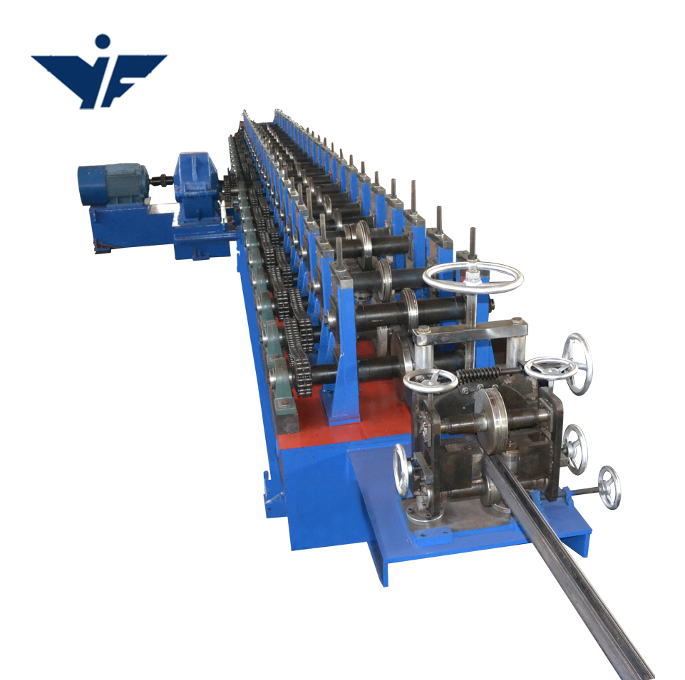 Hot selling unistrut channel roll forming machines strut machine voormalige in voorraad