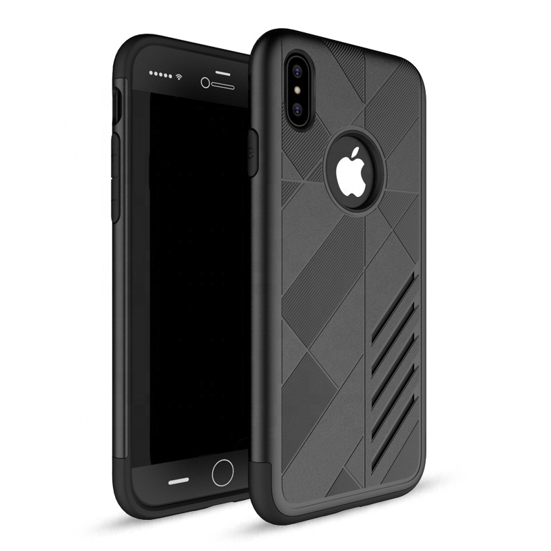 For iphone X edition case hybrid slim, anti scratch black phone cover for iphone 10 HD thin case фото