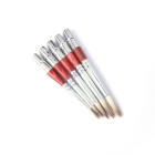 5pcs synthetic sable round hair art water paint brushes set