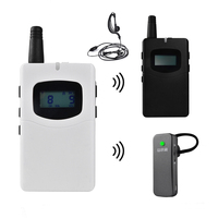 Radio Guide 2.4 Ghz Audio Wireless Tour Guide System for Teacher Coach Class Singing Interpreting Yoga Fitness