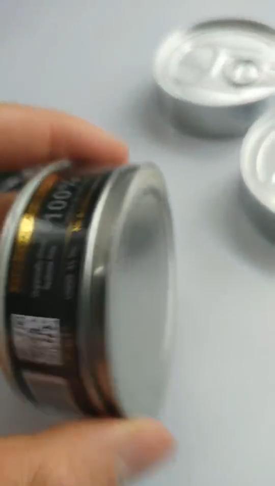 ถือ3.5หรือ4กรัมสมุนไพรแห้งSelf Seal Pressitinกัญชากระป๋องพร้อมฝาปิดสีดำ